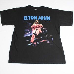 Vintage Elton John Solo Evening 90's Tour T-shirt
